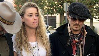 Watch Johnny Depp Prank Amber Heard on