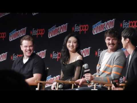 The Great Wall panel FULL (Matt Damon, Wang Junkai, NYCC 2016)