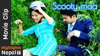 Scooty Maa | DREAMS Nepali Movie Clip | Anmol K.C, Samragyee Rajya Laxmi Shah