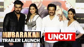 UNCUT - Mubarakan Trailer Launch | Arjun Kapoor, Anil Kapoor, Ileana D'Cruz, Athiya Shetty