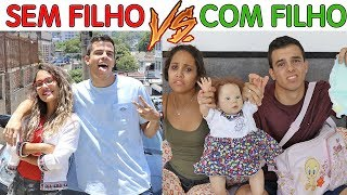 CASAL SEM FILHO VS CASAL COM FILHO - KIDS FUN