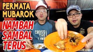 Makan Seabreg Berdua Dibawah 60rb di Ayam Penyet Pecel Lele Permata Mubarok - Jakarta