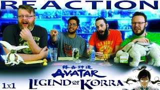 "The Legend of Korra 1x1 REACTION!! ""Welcome to Republic City"""