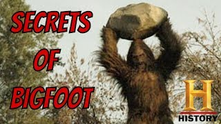 SECRETS OF BIGFOOT (History Channel Documentary)