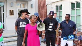 Prayer rally in Suffolk for Charlottesville violence victim