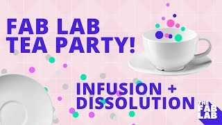 Kids Science Experiment: THE FAB LAB Tea Party ☕ 🍯 Infusion + Dissolution with Crazy Aunt Lindsey