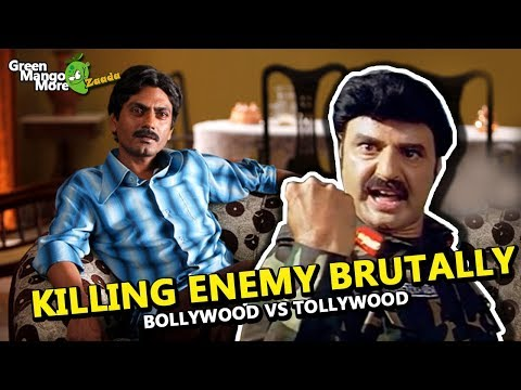 Worst Killing Scene Ever - Bollywood Vs Tollywood (Feat. Balakrishna)