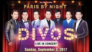 Paris By Night Divos - September 3, 2017 at Pechanga