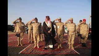 الأمير خالد بن عياف وزير الحرس الوطني يتفقد قوات الحرس الوطني في المشاعر المقدسة لخدمة ضيوف الرحمن