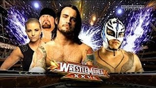 WWE WrestleMania 26 Rey Mysterio VS  CM Punk 720p