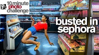 Ballerina Kicked Out of Sephora...TWICE!  *10 Minute Photo Challenge*