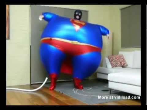 Inflatable Superman.flv