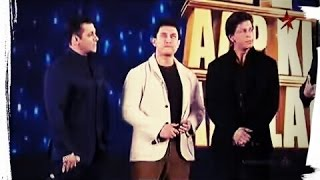 Salman khan speaks about aamir and shahrukh in awards show,so funny just watch it.