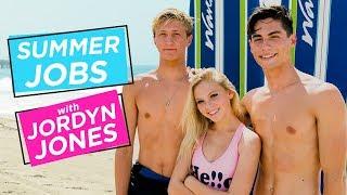 JORDYN JONES MALIBU SURF CAMP w/ JOEY & VAN | Summer Jobs w/ Jordyn Jones