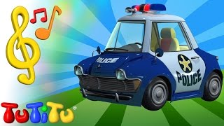TuTiTu Toys and Songs for Children | Police Car Song
