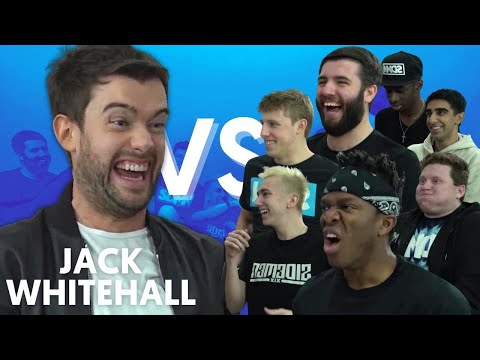 JACK WHITEHALL VS SIDEMEN FIFA Trivia Innuendo Bingo Accent Challenge More