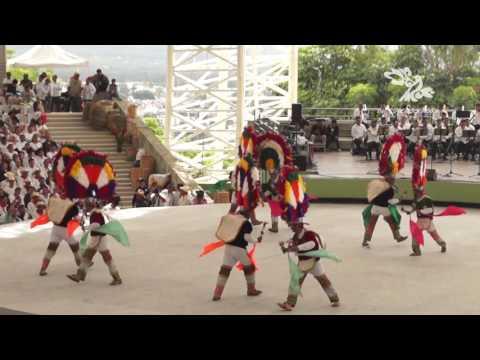 Guelaguetza 2016 Villa de Zaachila Danza de la Pluma 25 de julio 10am