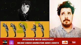 Green Day Music Video Animator Ariel Costa