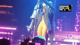 Toni Braxton Wardrobe Malfunction New 2014