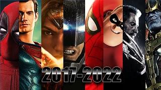 Upcoming Superhero Movies 2017-2022