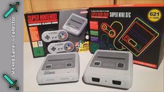 Super Mini SFC / SNES Mini Clone Console / 621 in 1 / Original vs Bootleg / Nintendo Family Computer