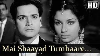 Main Shayad Tumhare Liye | Yeh Raat Phir Na Aayegi Songs | Sharmila Tagore | Asha Bhosle |Filmigaane