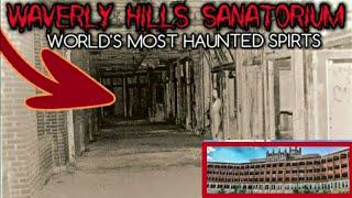WORLD'S Most HAUNTED PLACE (OVERNIGHT) in WAVERLY HILLS SANATORIUM