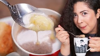 Latinos Try Colombian Hot Chocolate