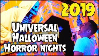 HALLOWEEN HORROR NIGHTS at Universal 2019