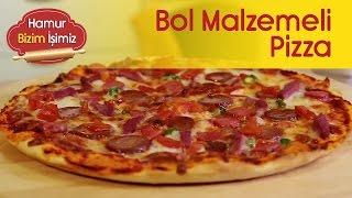 Bol Malzemeli Pizza - Sırrı Hamurunda