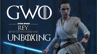 Rey Hot Toys Figure Unboxing