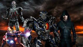 DC Marvel vs. Transformers: Civil War - Epic Trailer (Fan-Made) [HD]