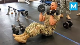SUPER SOLDIER - Fit & Strong | Muscle Madness