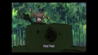 Girls und Panzer in 5 seconds