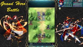 Fire Emblem Heroes GHB (Infernal): Roy vs Arvis One Turn Clear