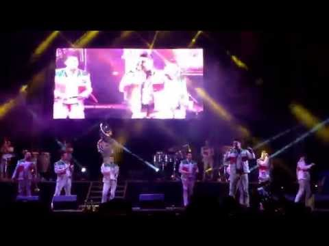 Presentación de Banda MS en orizaba Veracruz.