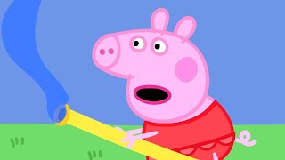 Peppa Pig Episodes - Outdoor adventures with Peppa Pig! - Cartoons for Children