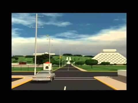 Animación de la Antigüa Managua antes del terremoto