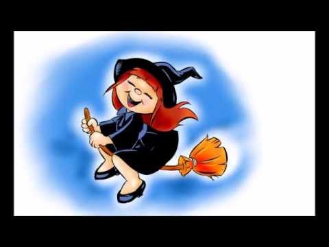 Desenhando a bruxinha