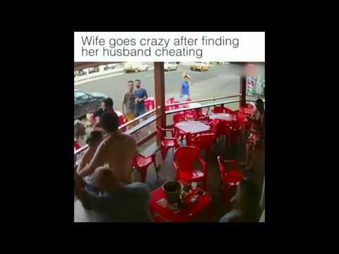Ngilu !!, Dasyatnya Amukan Istri Saat Mengetahui Suaminya Selingkuh