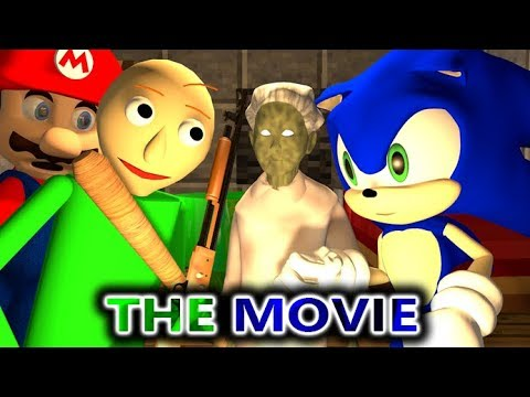 GRANNY VS BALDI & SONIC CHALLENGE THE MOVIE official Minecraft Horror Game Full Animation Video