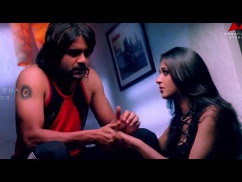 Funny Scene Between Anushka And Nagarjuna    Super Movie    Nagarjuna, Ayesha Takia, Anushka