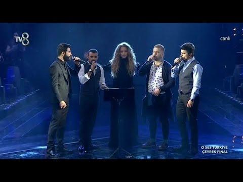 Gökhan ve Takımı Bektaşi Nefesi ile Geceye Damga Vurdu O Ses Türkiye Çeyrek Final 11 Şubat 2015