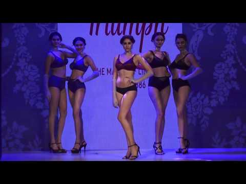 अकेले में ही देखे   Indian Girls in Lingerie   Triumph Fashion Show 2017   Part 4
