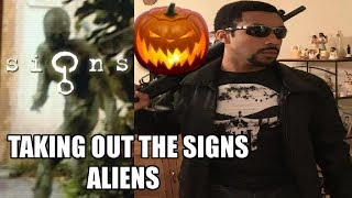 Taking out the Trifling Signs Aliens