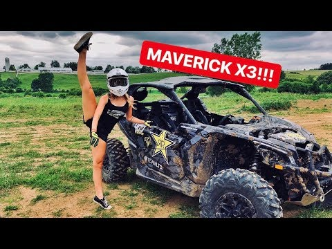 GIRLS First Reaction Riding In The MAVERICK X3!