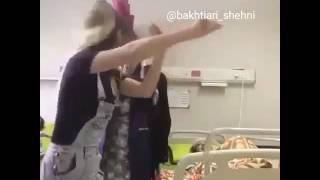 Bahman Shamss:بهمن شمس ،ترانه شهرکرد در بیمارستان با رقص