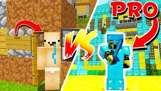 From PRO To NOOB In Minecraft