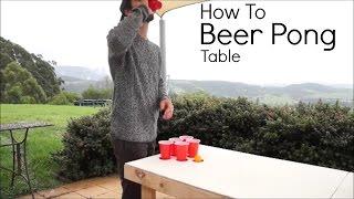 How To   Beer Pong Table   JarrodAndCo