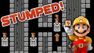 Super Mario Maker - STUMPED! - Kiavik Level Showcase